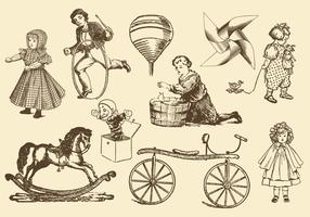 Antique Toy Vectors