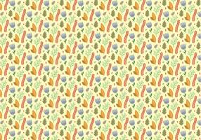 Plants Flowers Pattern