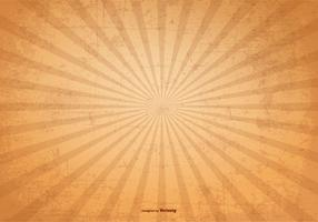 Sunburst Vector Grunge Background