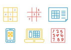 Free Sudoku Vector Graphic 1