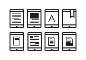 Free E-Reader Icons