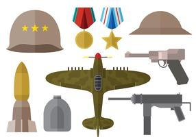 Free Wolrd War 2 Icons Vector