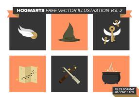 Hogwarts Free Vector Pack Vol. 2