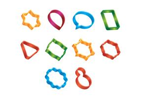 Free Vector Cookie Cutters
