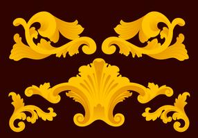 Acanthus Vector Ornaments
