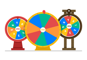 Spinning Wheel Vectors