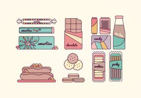 Sweets Vector Collection