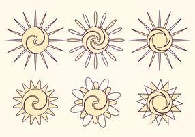 Vector Sun Collection