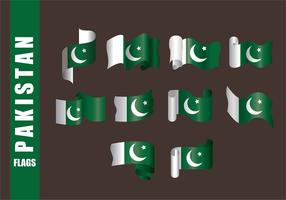 Pakistan Flag Vectors