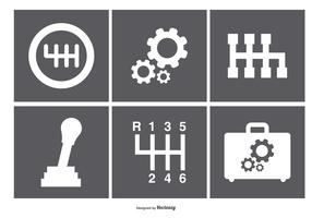 Assorted Gear Box Icons