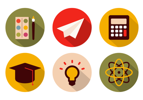 Free School Icons Vector