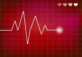 Heart Monitor Vector. Ekg.
