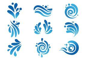 Free Water Vectors