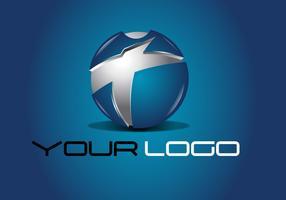 Blue Tech Logo Design Vector