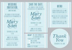 Blue Wedding Templates