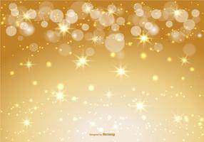 Beautiful Gold Bokeh/Sparkle Background