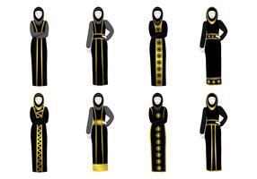 Free Abaya Vector
