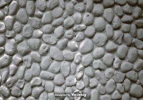 Vector Realistic White Stone Wall
