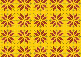 Vector Songket Pattern