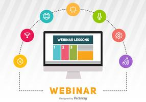 Webinar Vector Illustration