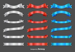 Ribbon Sashes - Vector