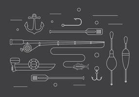 Fishing Vector Illustrations