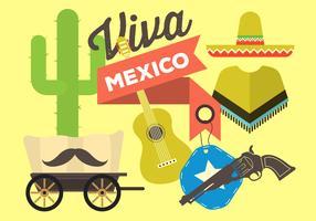 Free Flat Mexico Vectors