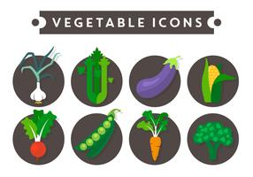 Vegetable Vector Icons