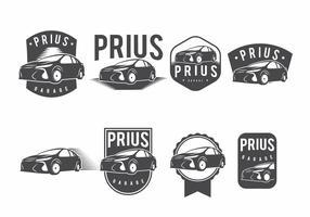 Prius Badge Set