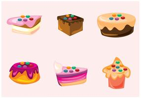 Smarties and Cakes Vectors