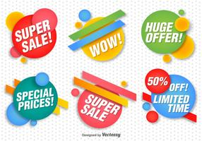Promotional Vector Banners Set