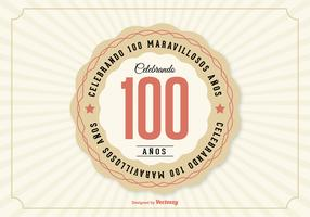 100th Aniversario Illustration
