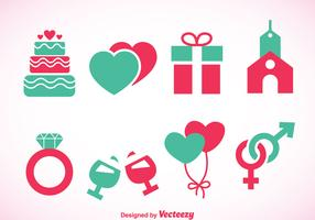 Wedding Element Icons