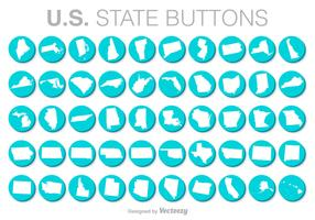 United States Vector Buttons