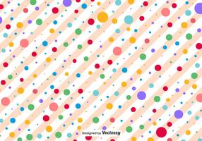 Polka Dots Vector Pattern