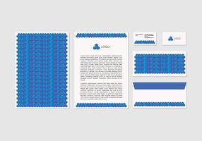 Free Vector Letterhead Design