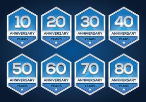 Free Anniversary Emblem
