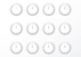 Free Clock Vectors
