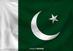 Flag Of Pakistan Vector Background