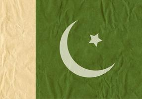 Free Vector Flag Of Pakistan On Cardboard Texture