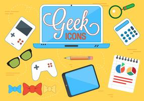 Free Geek Vector Icons