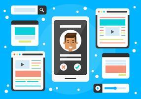 Free Social Media Vector Elements