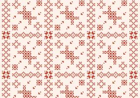 Stitching Rustic Pattern