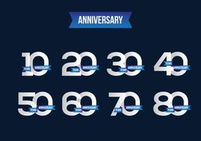 Free Anniversary Vector