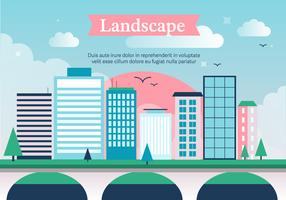Free City Vector Landscape