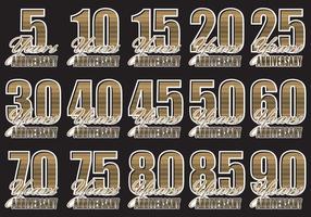 Golden Anniversary Emblems