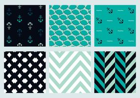 Free Marine Vector Patterns 3