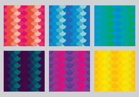 Free Fish Scales Vector Pattern 4