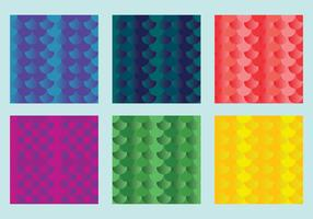 Free Fish Scales Vector Pattern 1