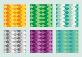 Free Fish Scales Vector Pattern 3